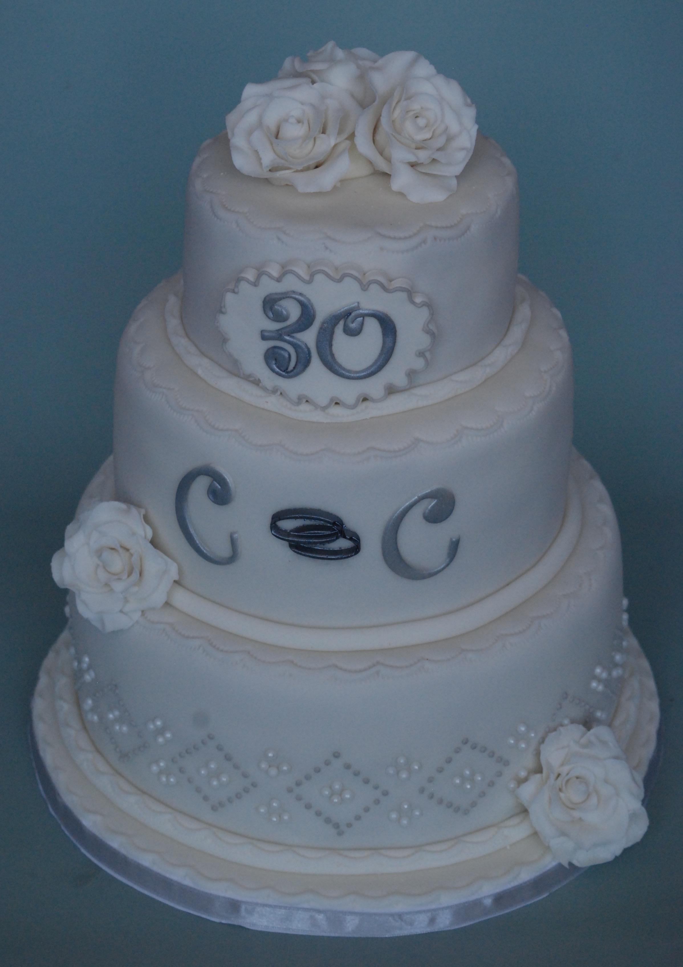 bruidstaart 30 jaar getrouwd (1)