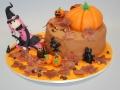 haloween taart